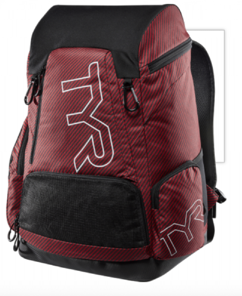 TYR Team Alliance Backpack 45L - TEAM RED